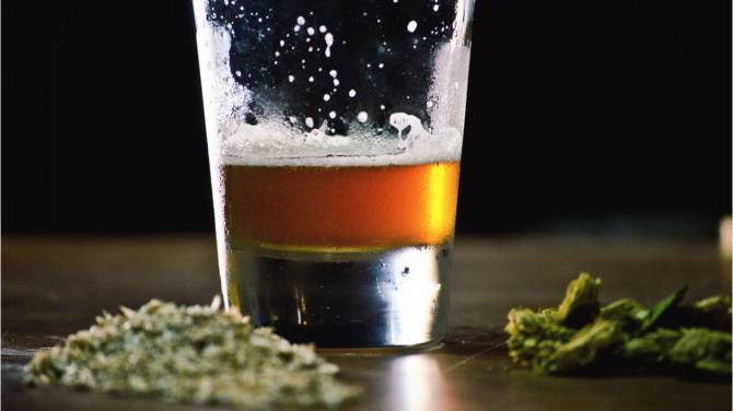 Marijuana When compared with Alcohol, Nicotine along with other Drugs